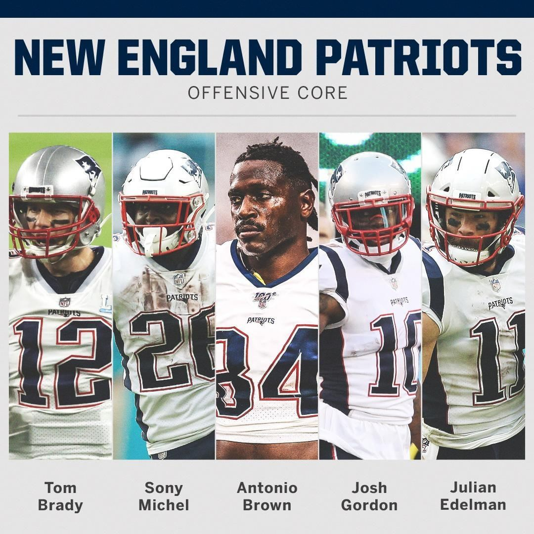 Espn On Instagram The Patriots Offense Is About To Be Boomin Patriots Patriots Team New England Patriots