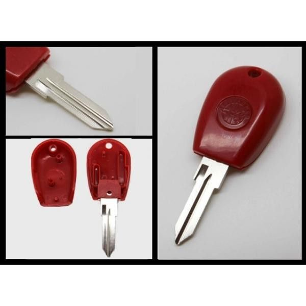 Alfa Romeo Key Shell (GT15R Blade) With Tpx Chip Position