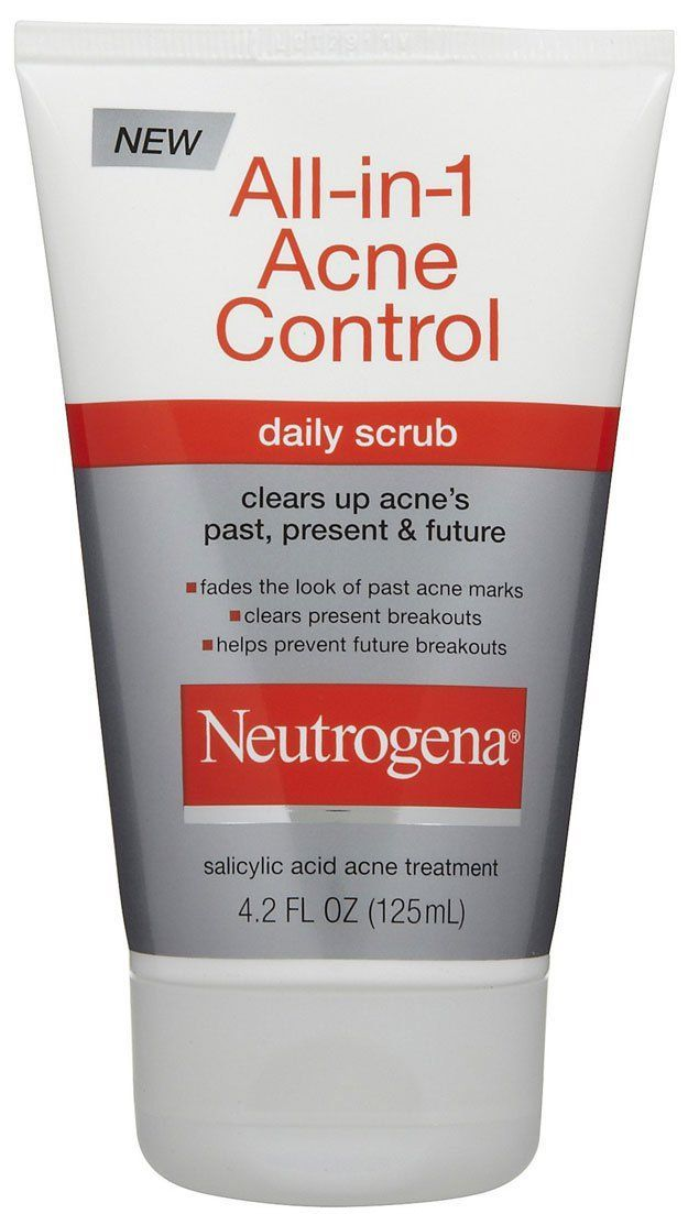 Neutrogena all in one acne control daily scrub 10 best facial neutrogena acne control daily scrub fluid ounce pack of ccuart Gallery