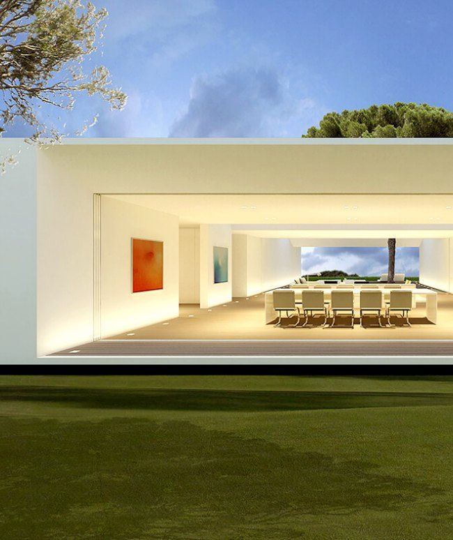 Modern Villa Design in Spain contemporary home design Minimal
