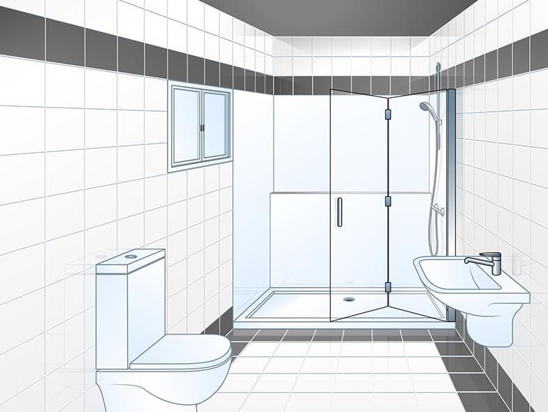 System Wanne zur Dusche, Badewanne raus Dusche rein (mit