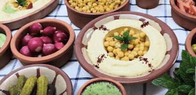 مطبخ الذوق الرفيع الحمص بالطحينة بالمنزل بالفيديو Food Chickpea Breakfast