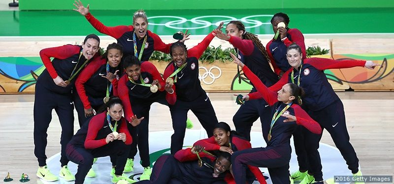 Team USA Wins Sixth Straight Women's Basketball Gold As Most Prolific Olympic Scoring Team Ever
