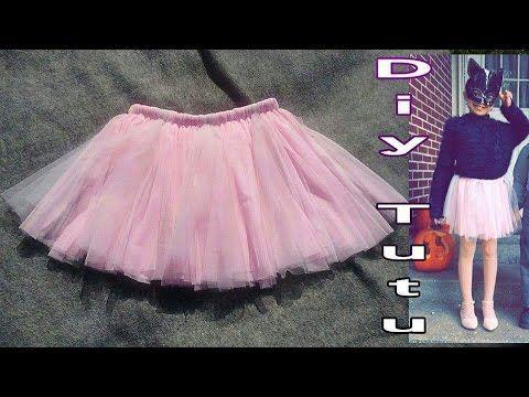 b3ab49a1c DIY TUTU como hacer tutu de niña sin maquina de coser. | infantiles ...