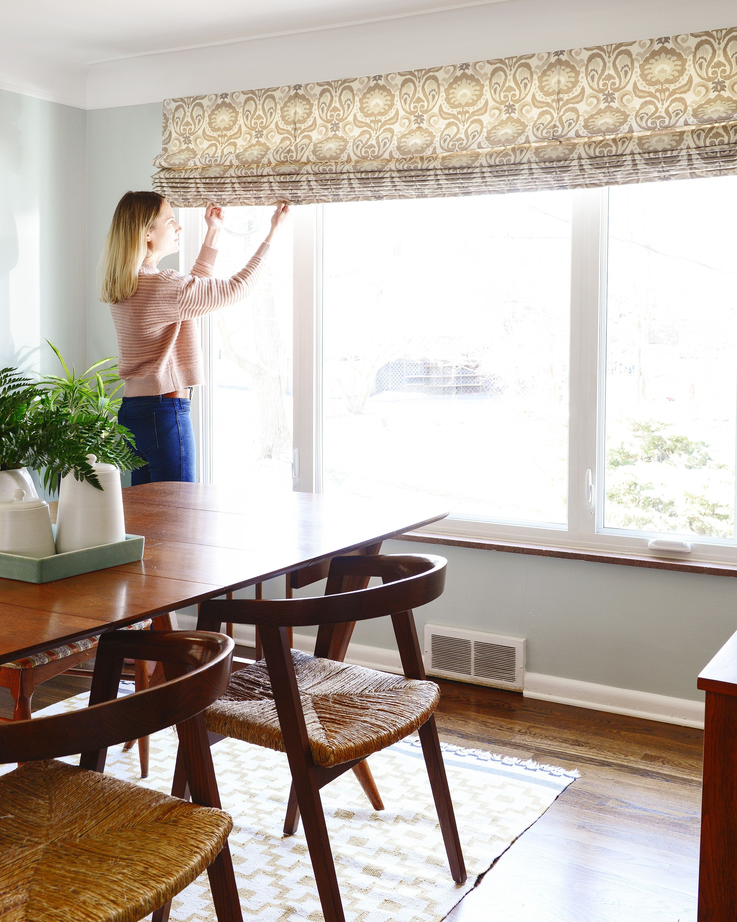 Long Distance House Call With Bali Blinds Bali Blinds Blinds Dining Room Windows