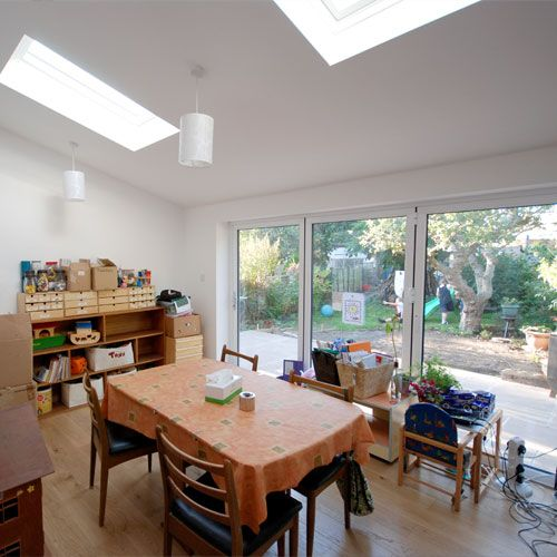 House Single Storey Rear Family Room Extension