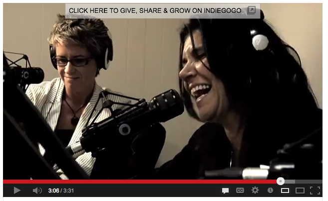 Screen capture from pilot show. Listen at this link > http://michellepollino.com/on-demand-podcasts.html
