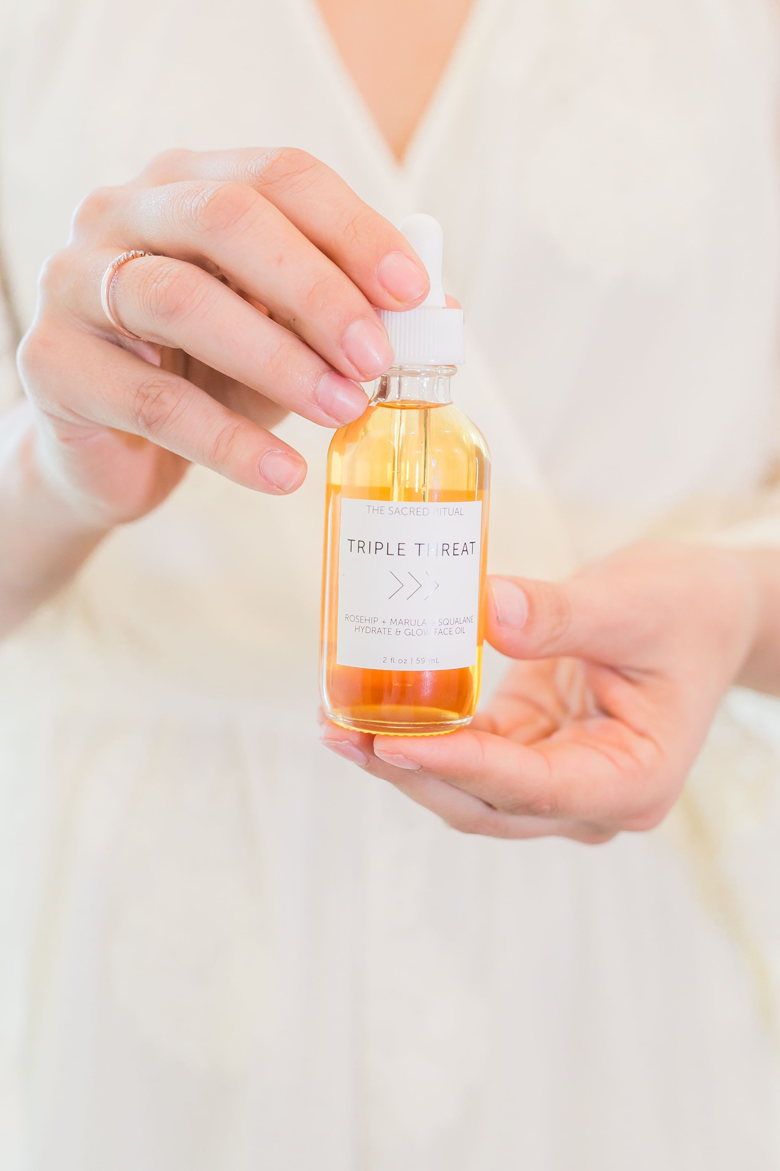 Branding And Product Photography For The Sacred Ritual Skin Care