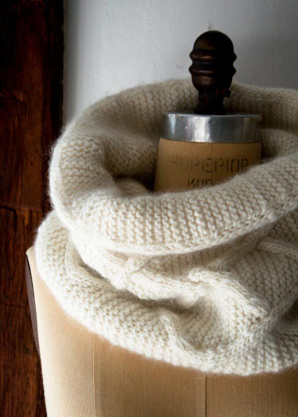 Cable Cloud Cowl | Purl Soho (free pattern) | Knitting | How