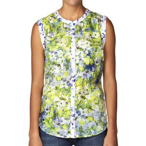 Bergenia Button Tank Multi, $65, now featured on Fab.