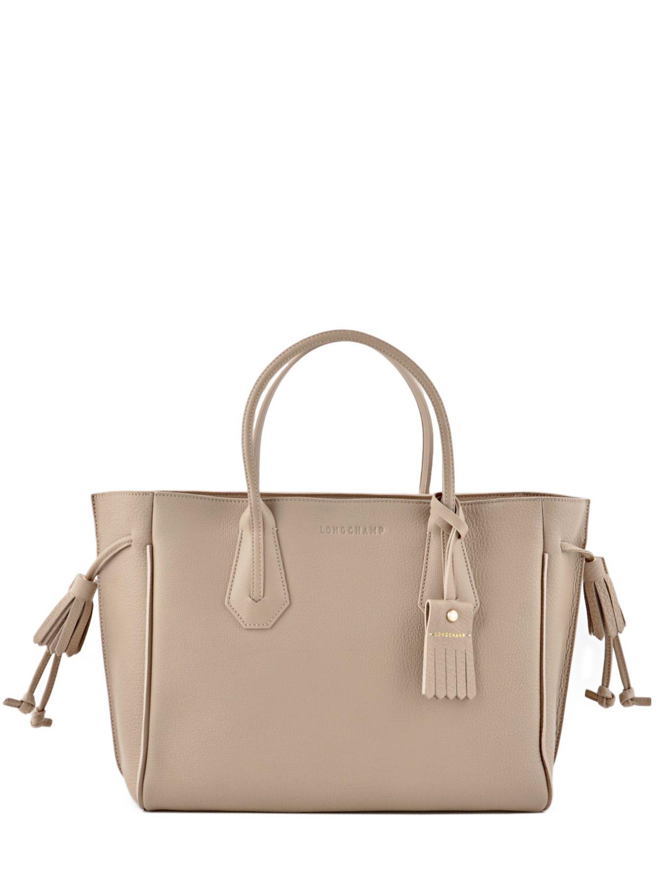 6eca26d413 Sac à main m Pénélope cuir LONGCHAMP en 2019   Handbags   Sac, Sac à ...