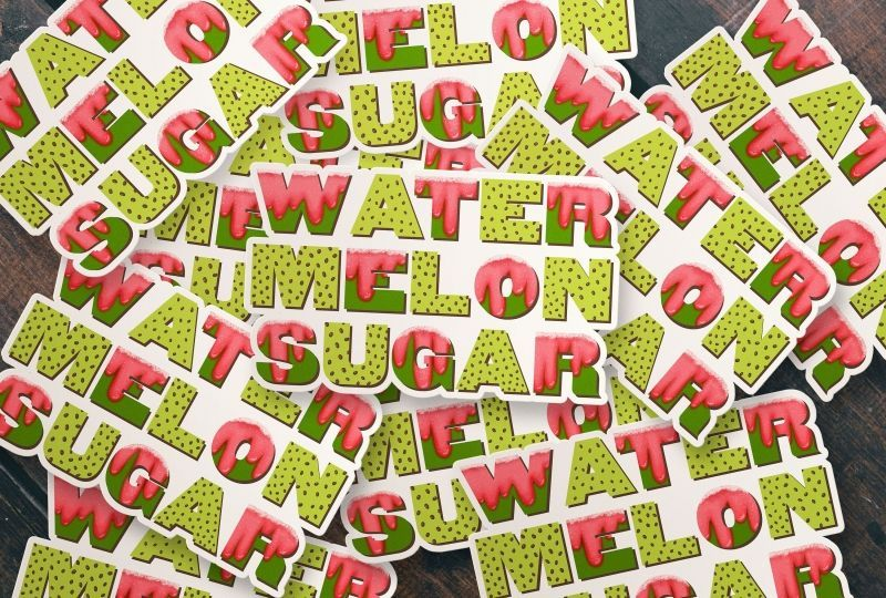 Harry Styles Watermelon Sugar Wallpaper 3 Wallpaper Grab Wallpapers Free Iphone Wallpaper Inspirational Iphone Wallpaper Hipster Iphone Wallpaper Glitter