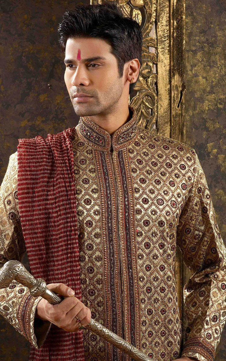 Sherwani is the best attire for men on their wedding makes groom