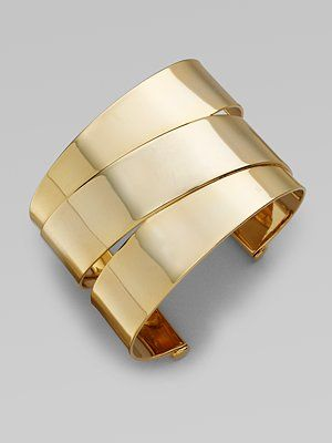 "Marc by Marc Jacobs - Wrapped Cuff Bracelet Diameter, about 2¼""  Slip-on style via saksfifthavenue.com"