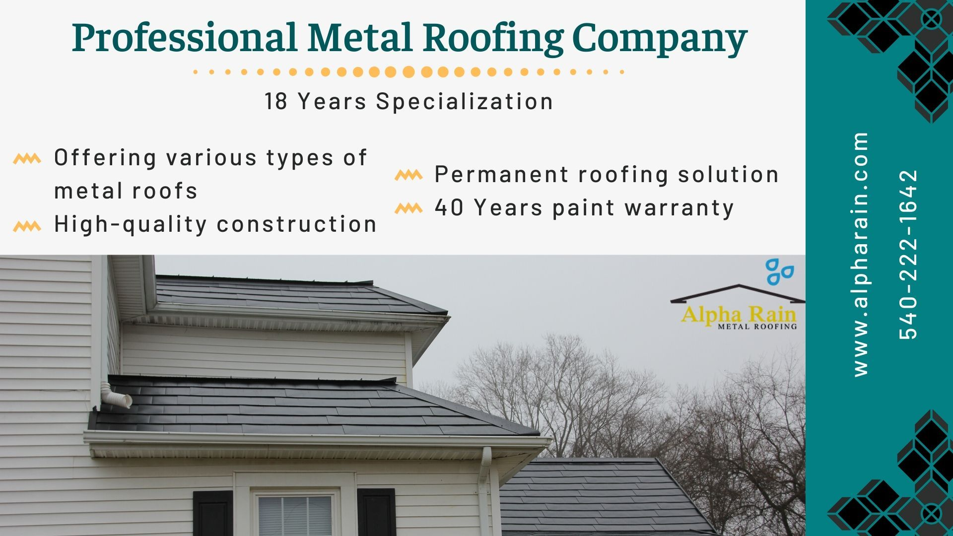 Permanent Metal Roofing System By Alpha Rain In 2020 Metal Roof Metal Roofing Systems Roofing