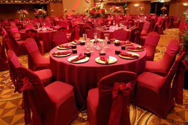 Valentine S Day Table Decorations Red Wedding Reception Tablescape