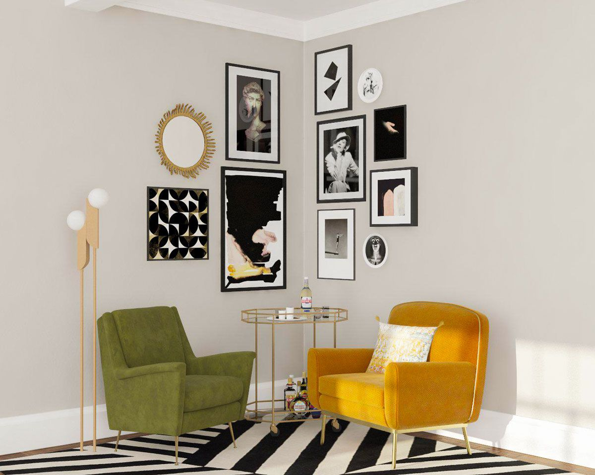 6 Fresh Ideas For Creating A Gallery Wall In Your Home M