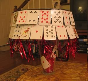 This would be so cute for some kind of poker night party