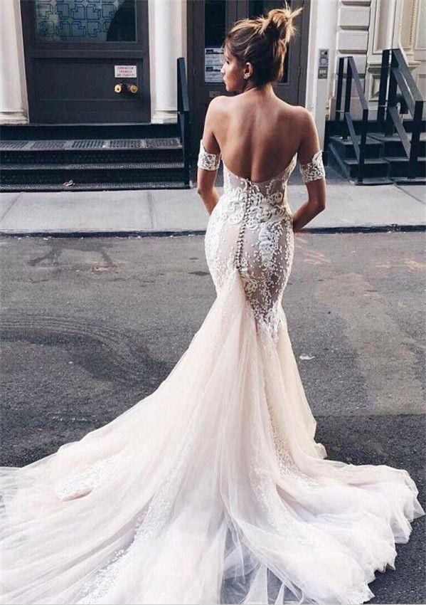 Wedding Dresses 34 Stunning Open Back Wedding Dresses That Wow