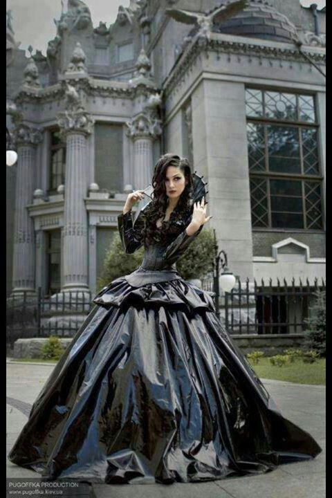 Beautiful Black Ball Gown | The black Dress,{ short or long}, a ...