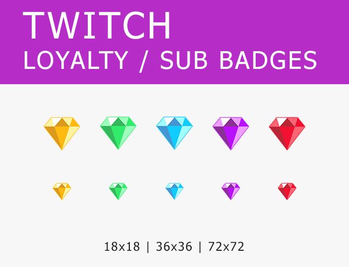 Twitch Sub Badges Cheer Bit Badges Destiny Ghost Etsy Twitch Badge Twitch Bits