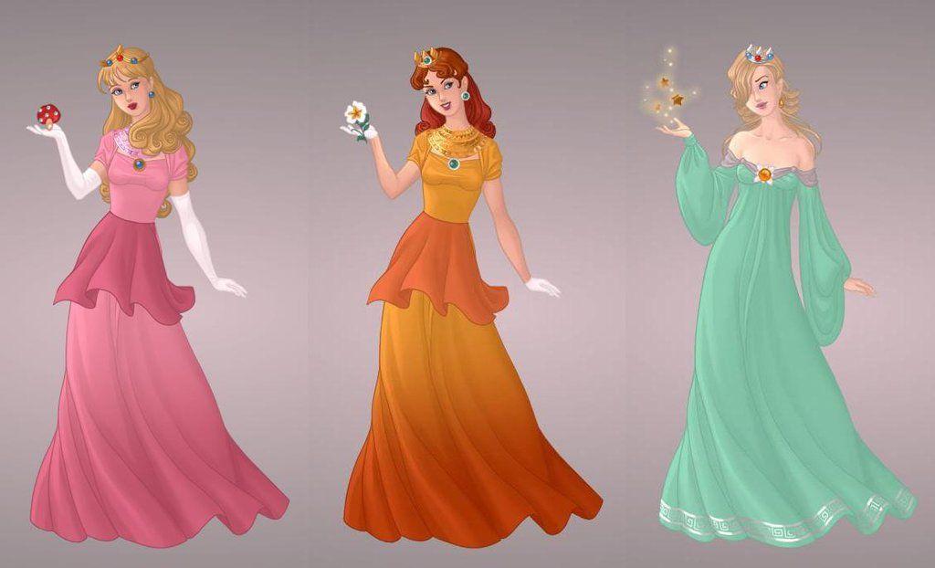 Princesses of Mario Bros. by autumnrose83 on DeviantArt // Peach ...