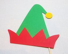 paper elf hat template google search christmas activities