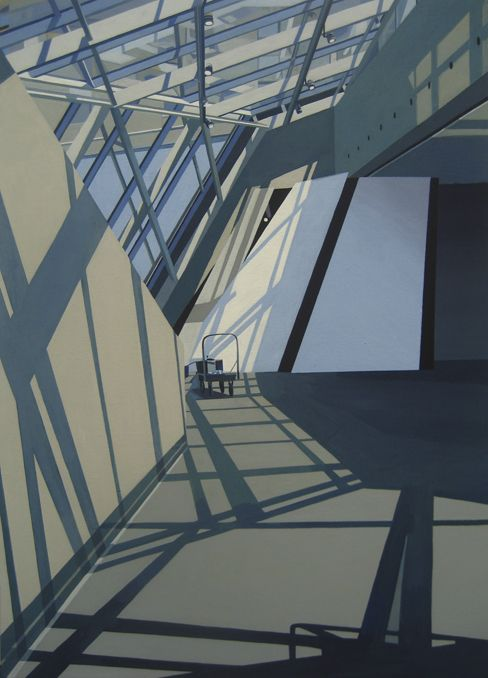 4th Floor (Claire and Marc Bourgie Pavilion)    2011  Flashe on panel  62.6 x 44.2 cm