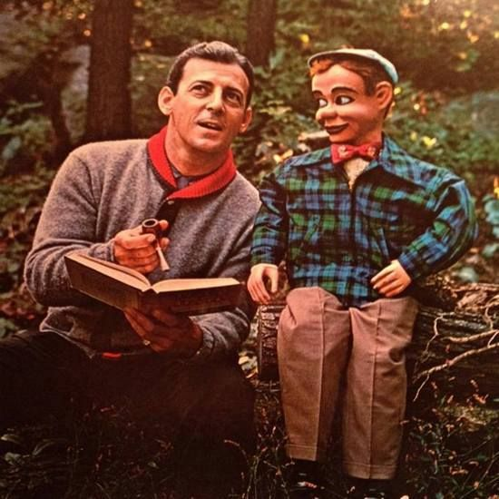 Paul Winchell and Jerry Mahoney.  Creepy Dolls Facebook