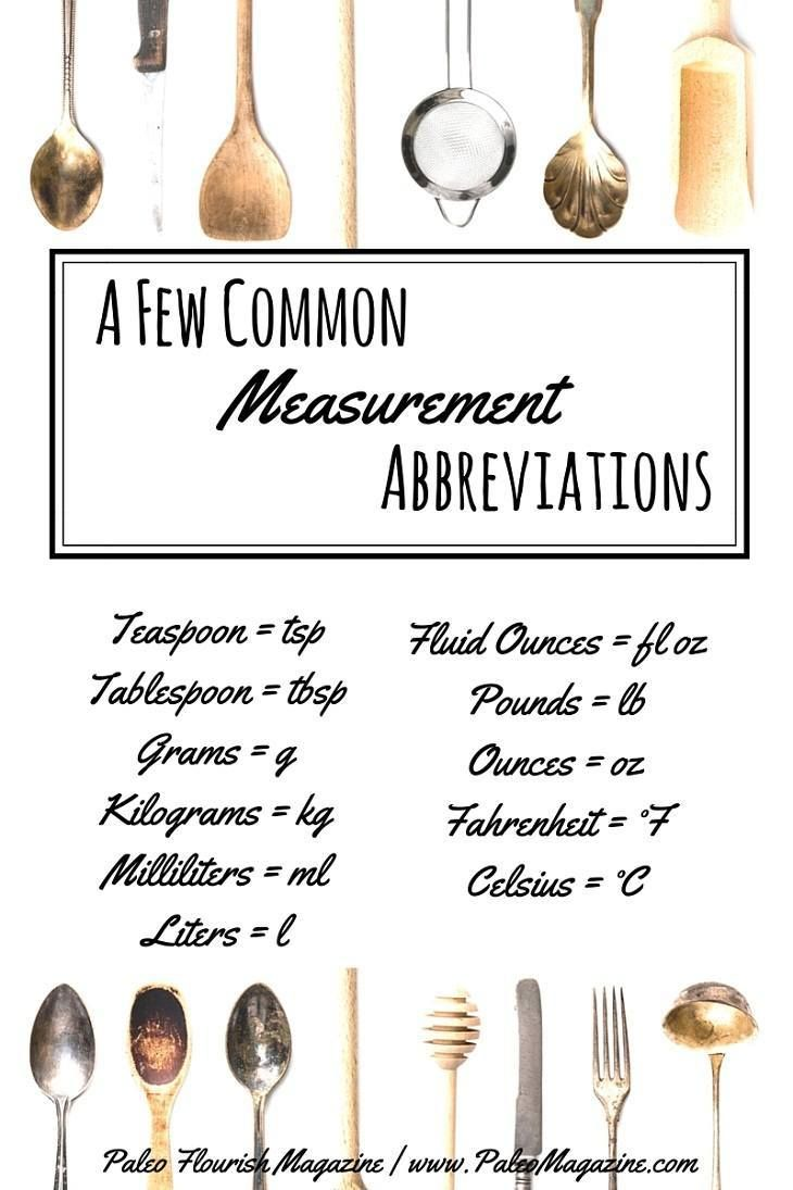 Paleo Baking Conversions - US to Metric Conversions | Pinterest ...