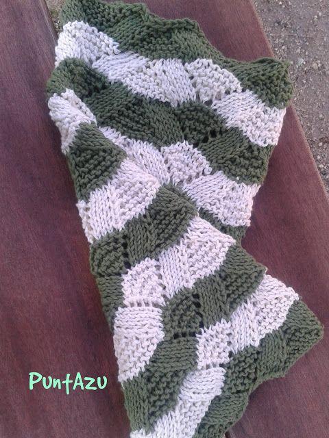 Patrón gratis. punto abanico. Tutorial paso a paso | crochet ...