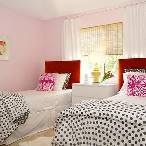 Best Turquoise La Girl S Rooms Baby Pink Walls Powder Pink 640 x 480