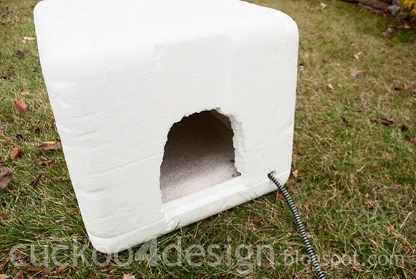 Cuckoo4design Feral Cat Shelter Cat Diy Outdoor Cat House