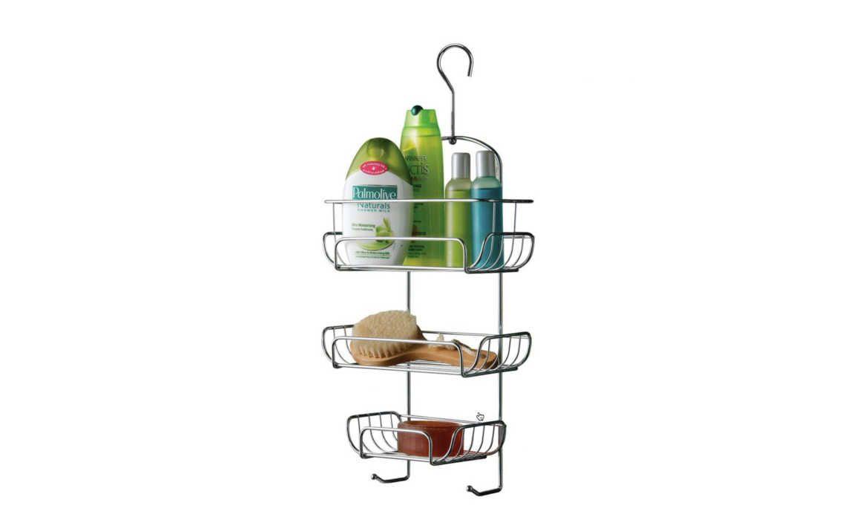 3 Tier Hanging Hook Shower Caddy, Tidy Organiser Bathroom Rack
