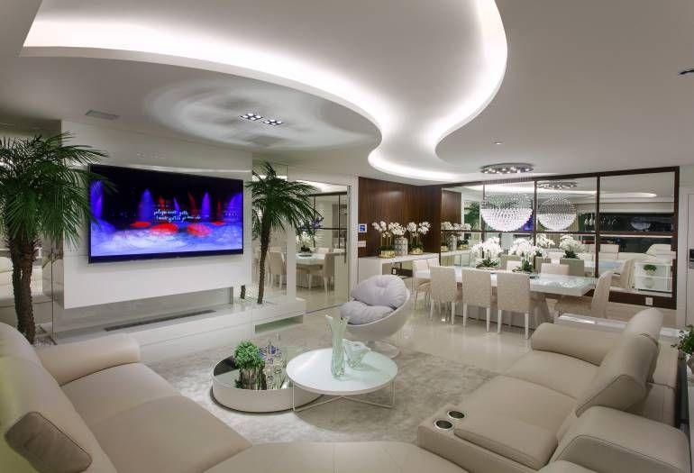 Apartamento moderno com decora o sofisticada em cores for Interior design appartamento moderno