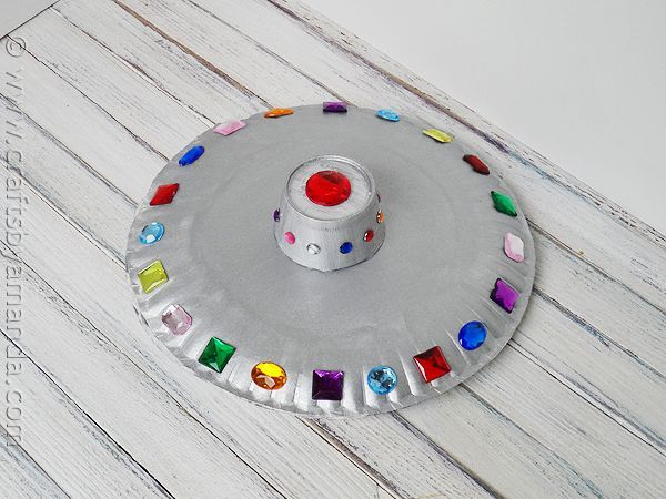 Paper Plate Flying Saucer | Recipe | Flying saucer Craft activities and Craft & Paper Plate Flying Saucer | Recipe | Flying saucer Craft activities ...