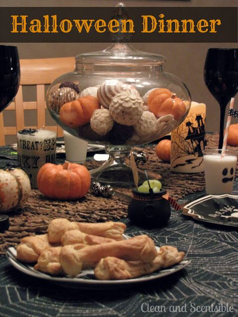 Clean  Scentsible Halloween Dinner Ideas  Recipes Halloween - halloween catering ideas