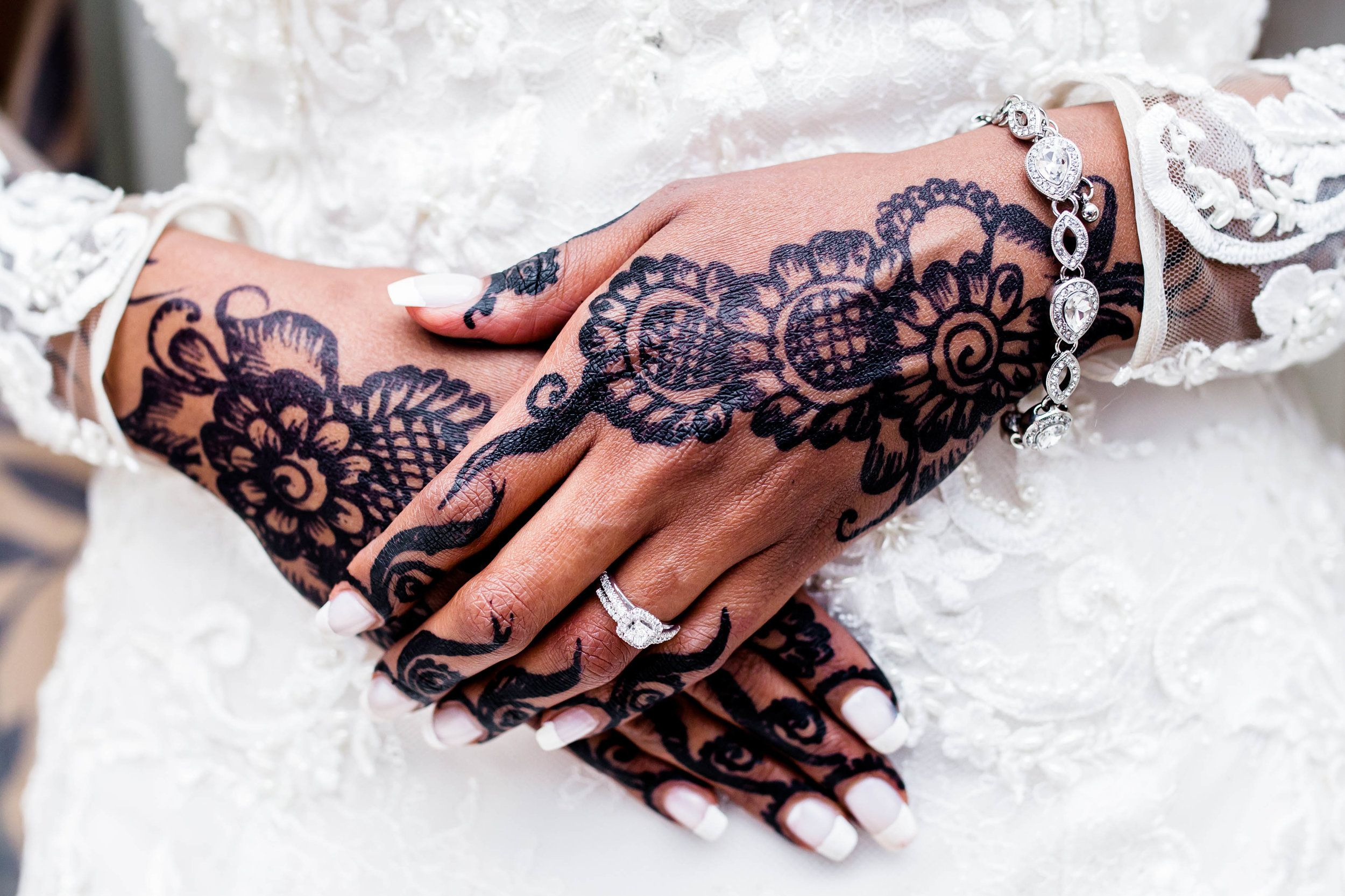Details From A S S Wedding Karimah Gheddai Bridal Henna Somali