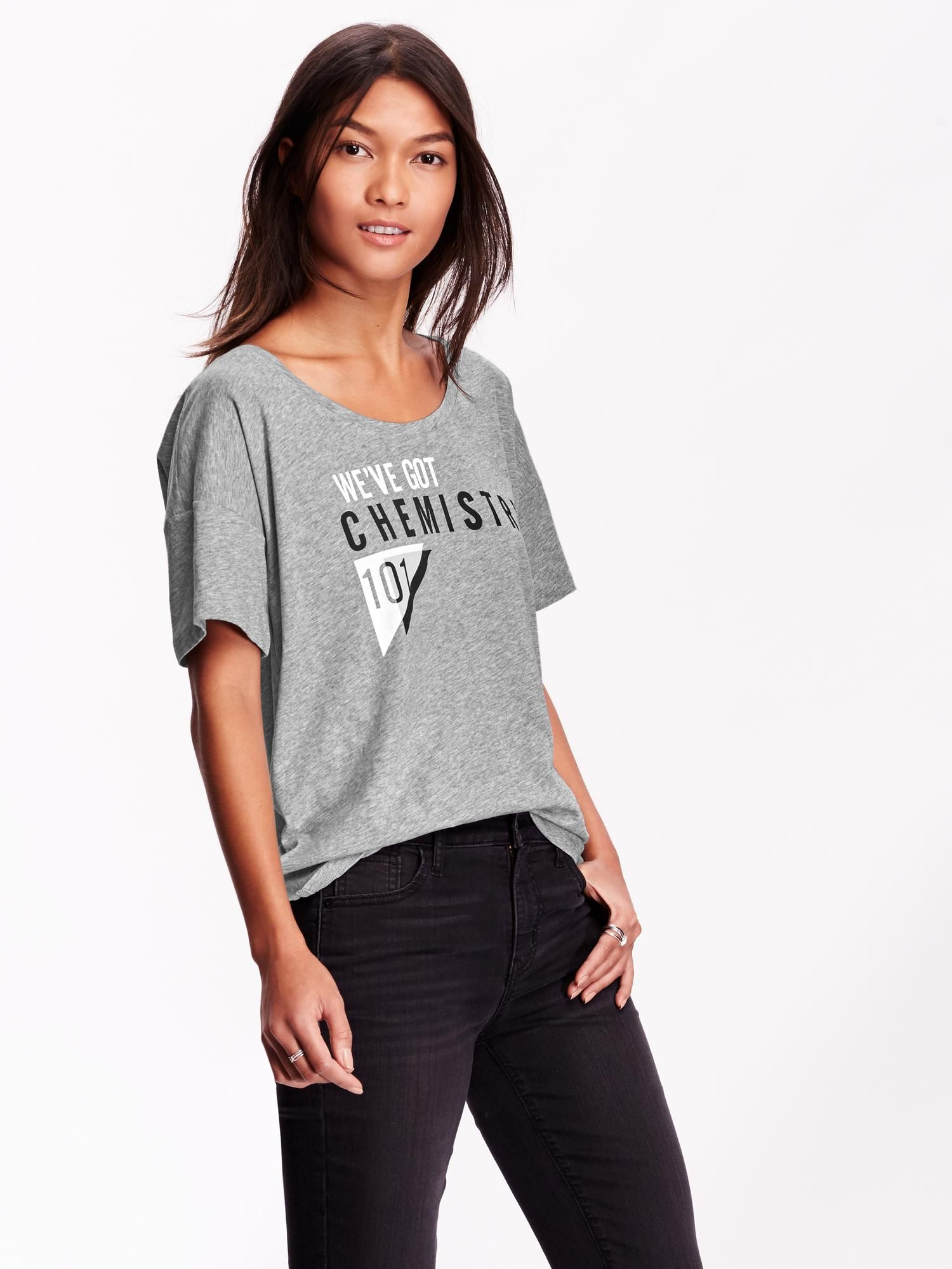 1d82ea0ad7851 We've Got Chemistry 101 T-shirt Old Navy | Outfits | Women, T shirts ...