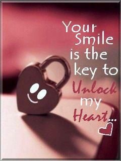 Your Smile Is The Key To Unlock My Heart Be My Valentine
