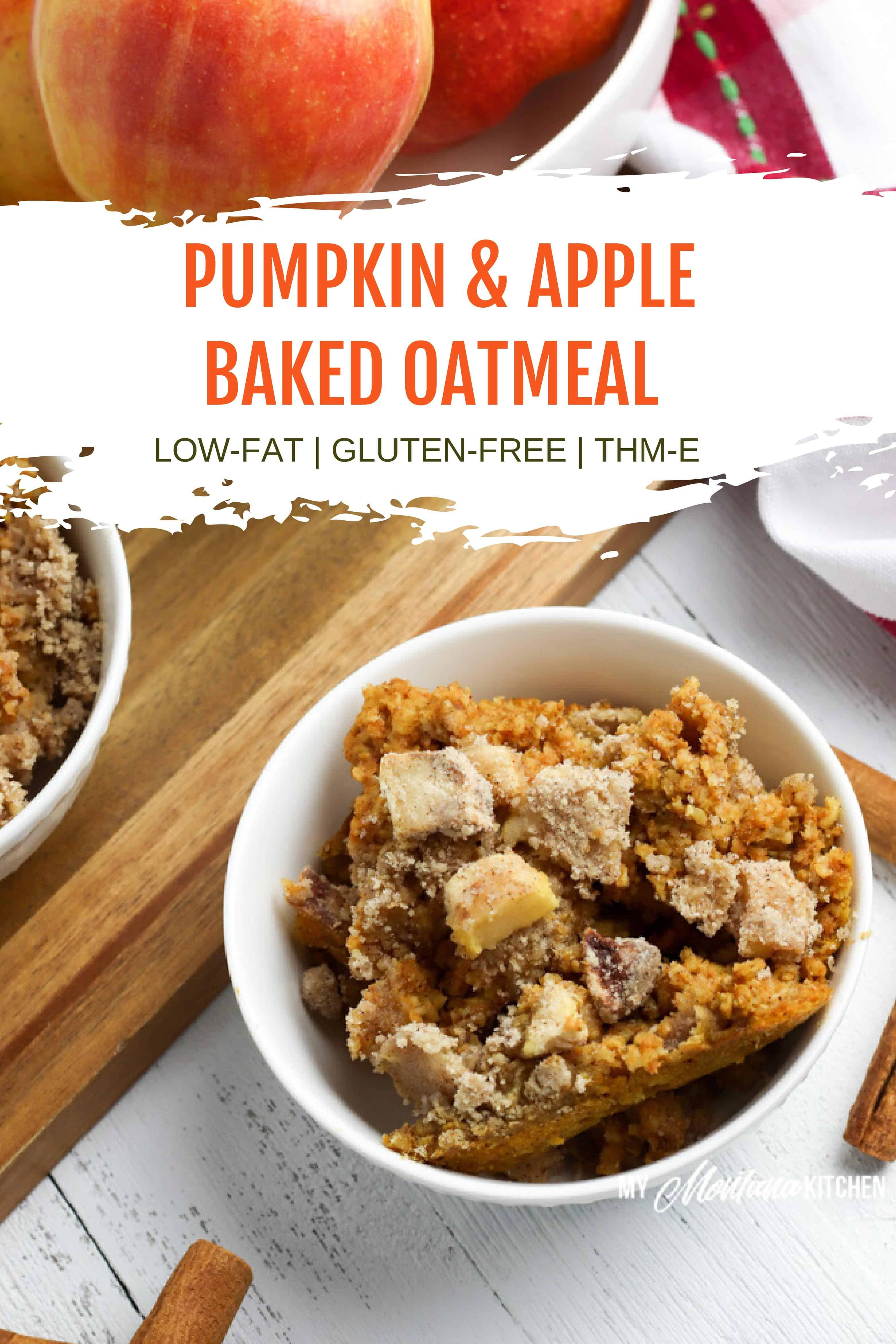 This Easy And Healthy Baked Pumpkin Oatmeal Recipe Has No Refined