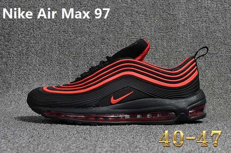 Nike 97 Kpu Max 97 Kpu New Men Black Red 40 47 Nike Air Max
