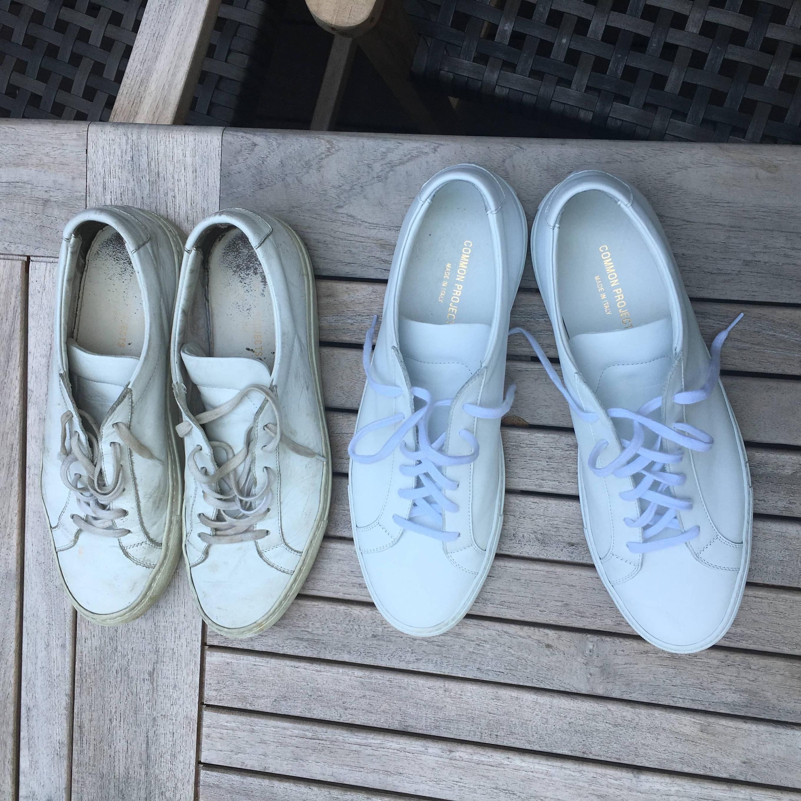 3d7e77da768d Common Projects Achilles Low 3 years old and 3 days old.  styled247 ...
