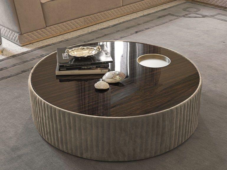Mesita redonda de madera SUN | Mesita de madera Colección Loveluxe ...