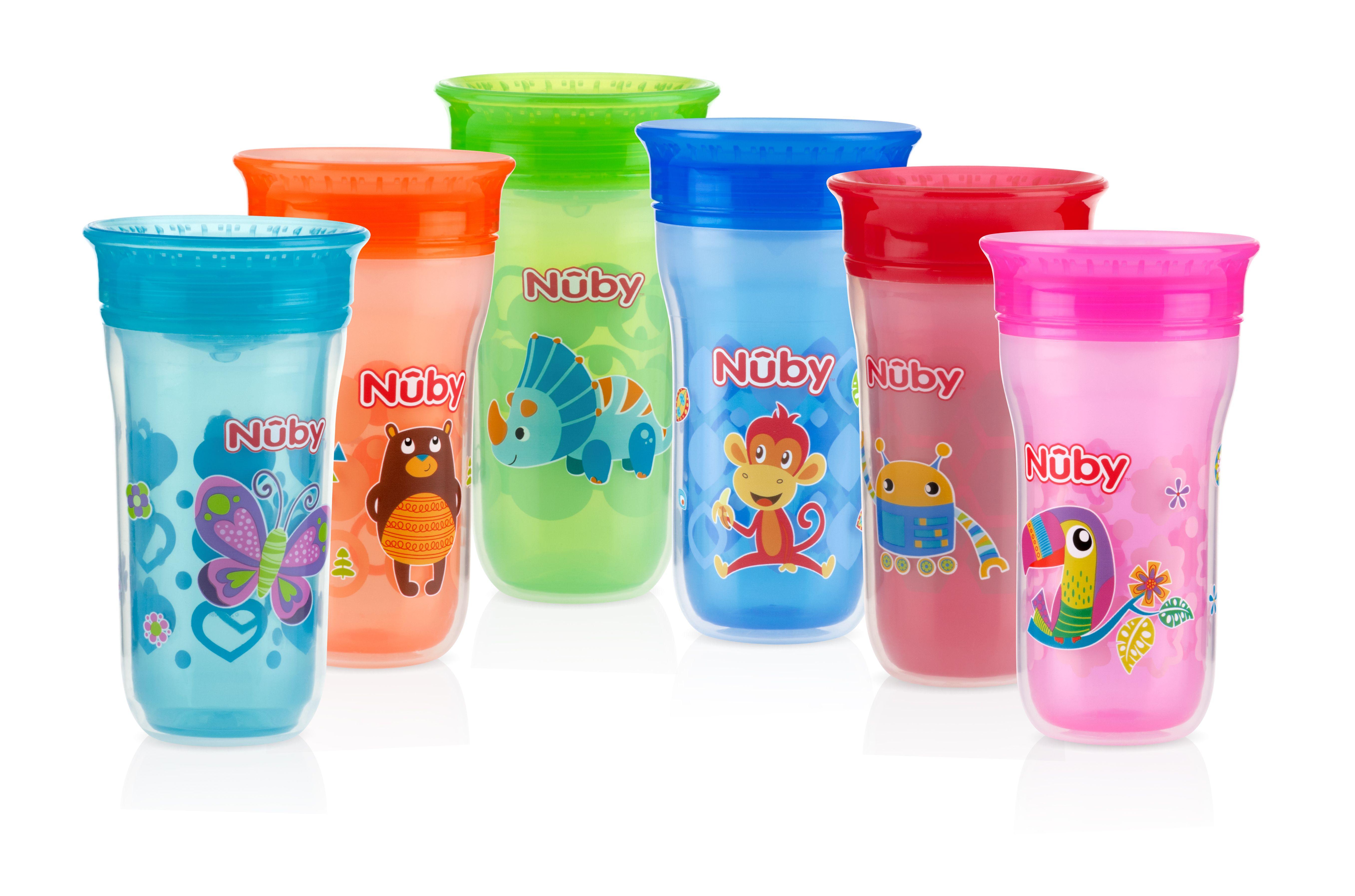 Nuby Wonder Cup Feeding Baby Food Spills Insulated
