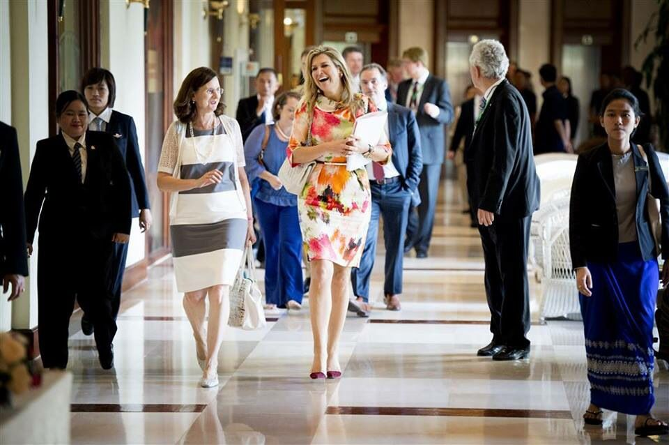 Visit Maxima to Myanmar, March 30, 2015