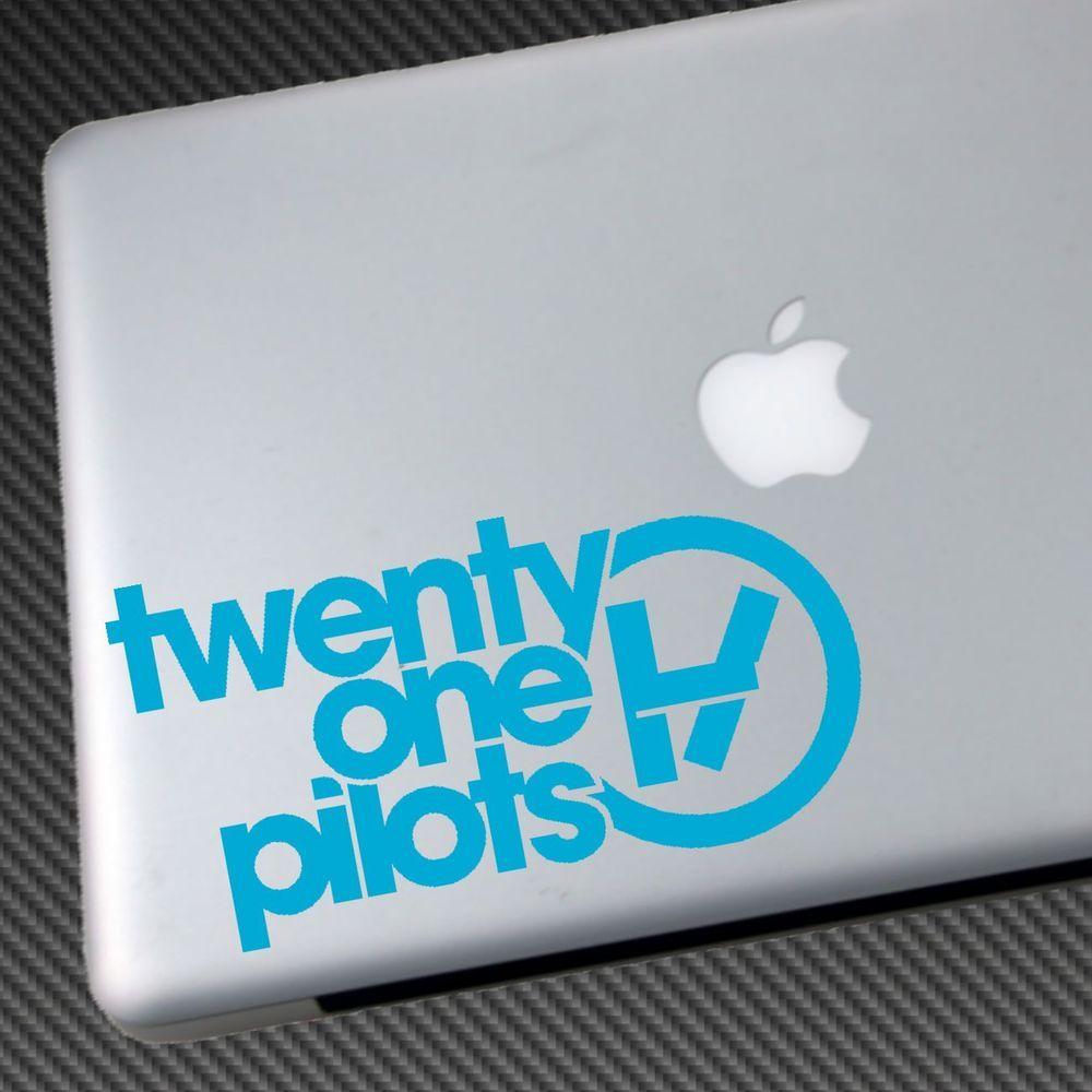 Twenty One Pilots Vinyl Sticker Car Decal Laptop Shirt Cd