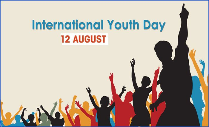 International Youthday Is Observed On 12th Aug To Create