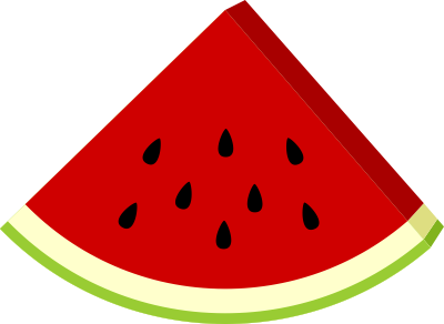 watermelon slice clipart nixbgke5t png 400 292 rh pinterest com watermelon clipart black and white watermelon clipart black and white