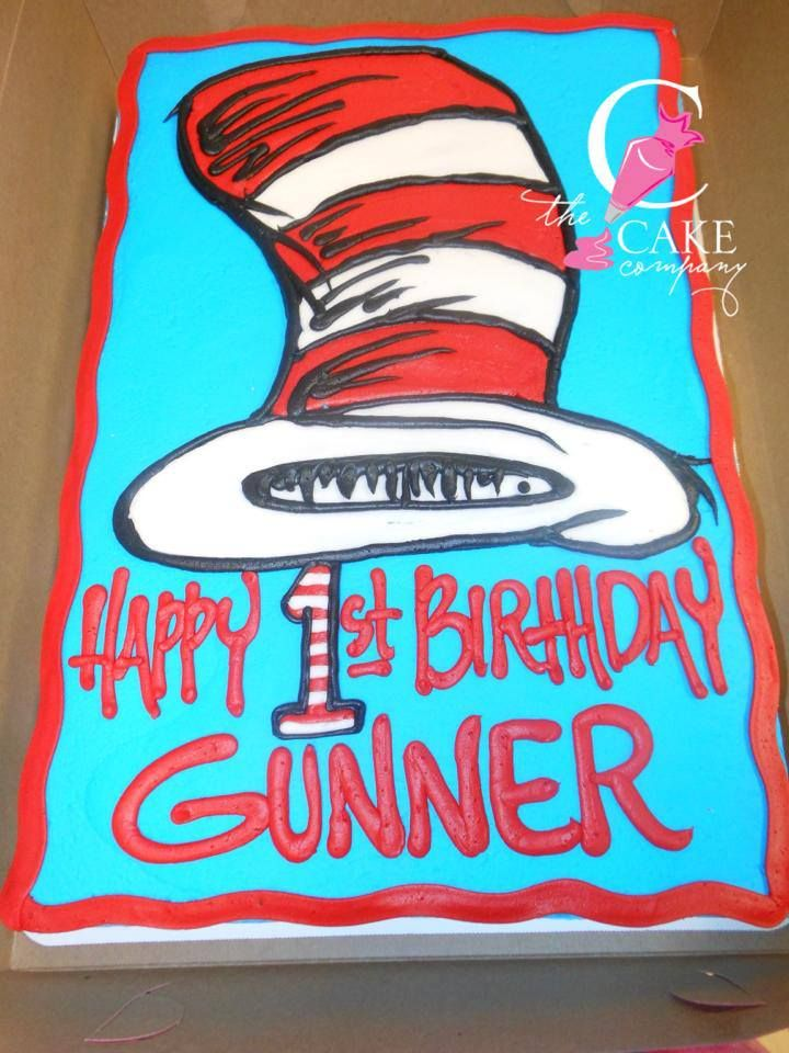 Dr Seuss Cake Dr Suess Birthday Party Ideas Dr Seuss Birthday